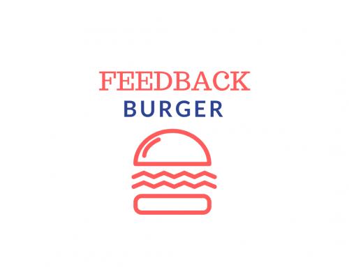Wie Sie richtig Feedback geben – Der Feedback Burger